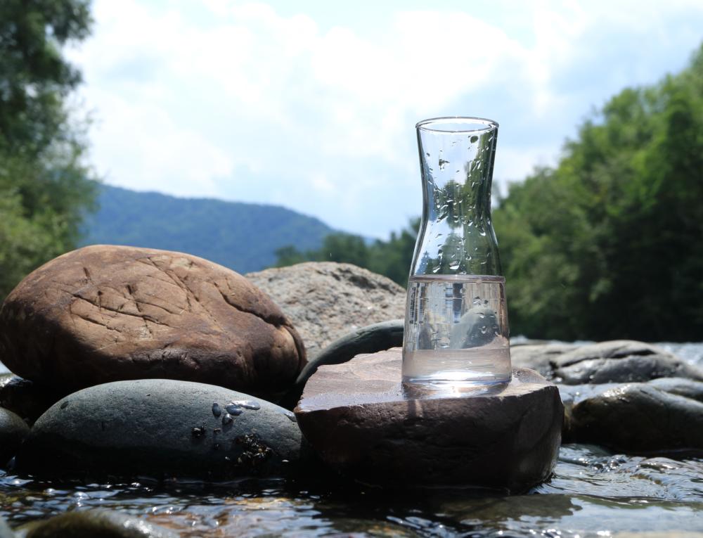 Supplying untreated water