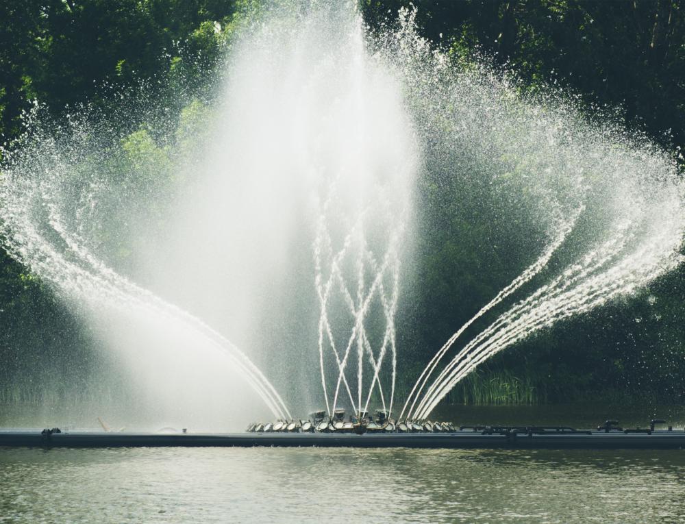 Fountains, spouts